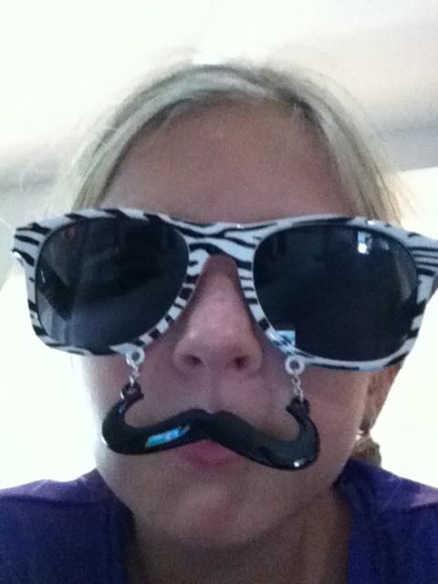 Megan the Mustache Master